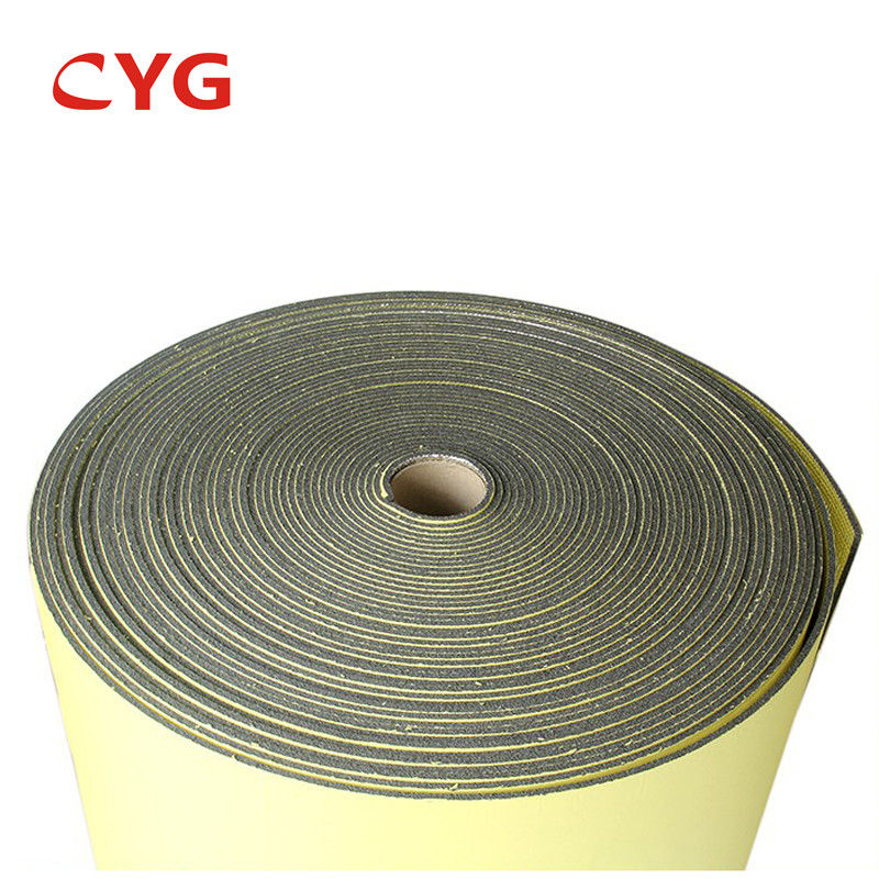 Cross Linked HVAC Insulation Foam Polyethylene Sheet Closed Cell With Aluminium Foil